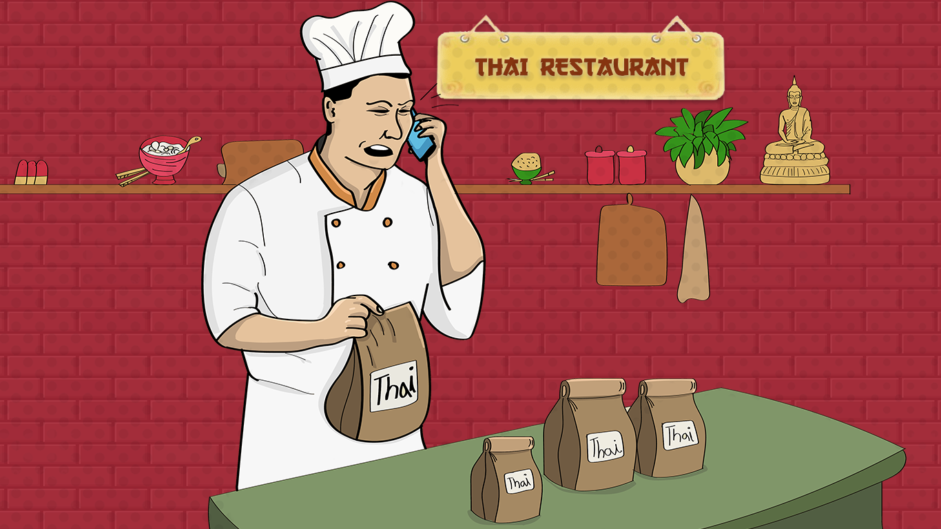 Thai Food Takeout Prank Call
